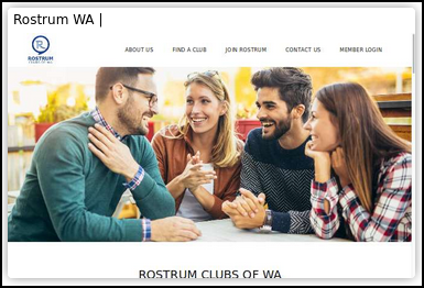 Rostrum WA website